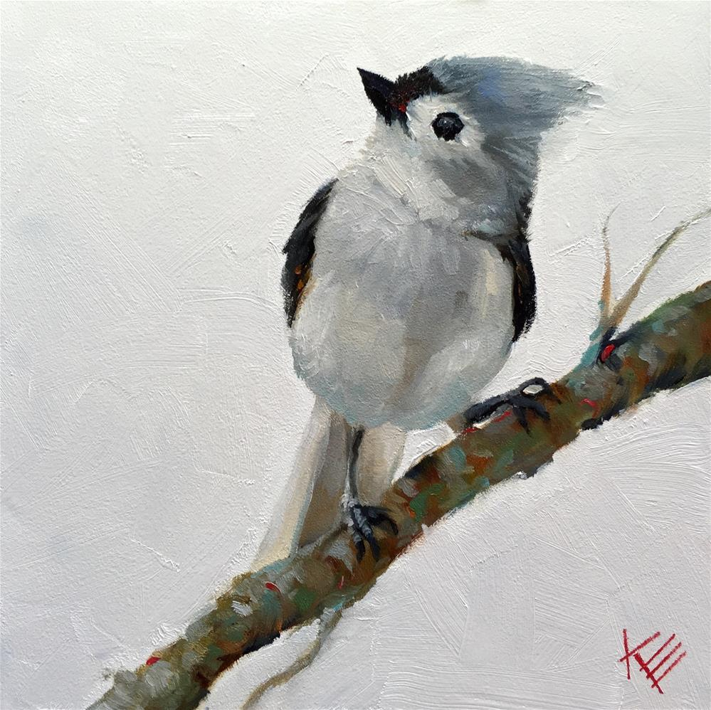 """Little Tweet"" original fine art by Krista Eaton"