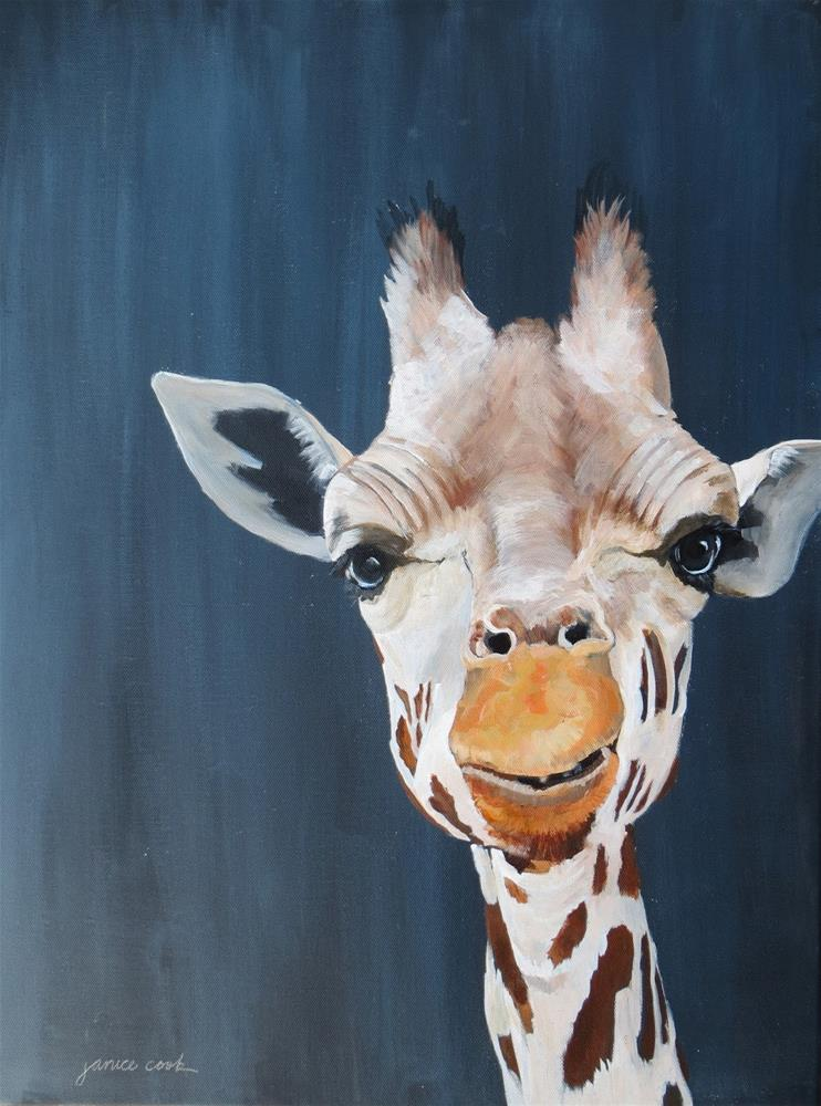"""""""Where is my Mate?"""" original fine art by Janice Cook"""