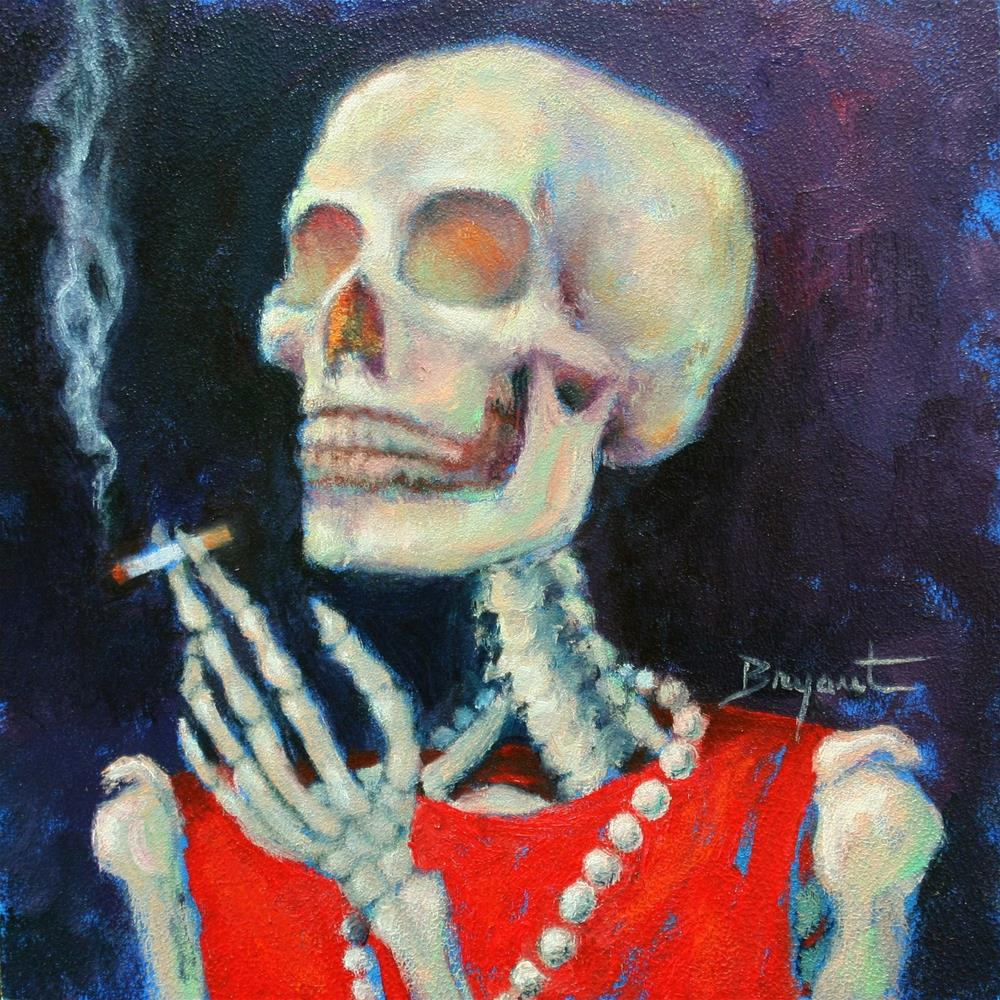 """Dressed to Kill"" original fine art by Debra Bryant"