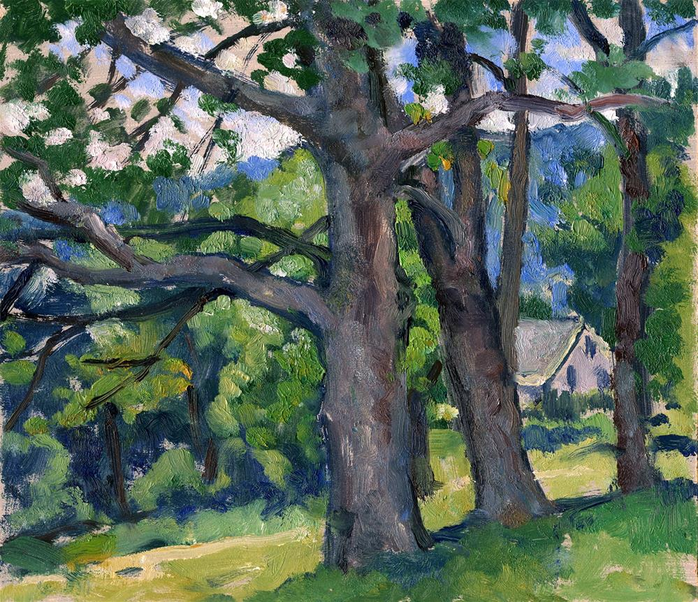"""Summer Shade"" original fine art by Thor Wickstrom"