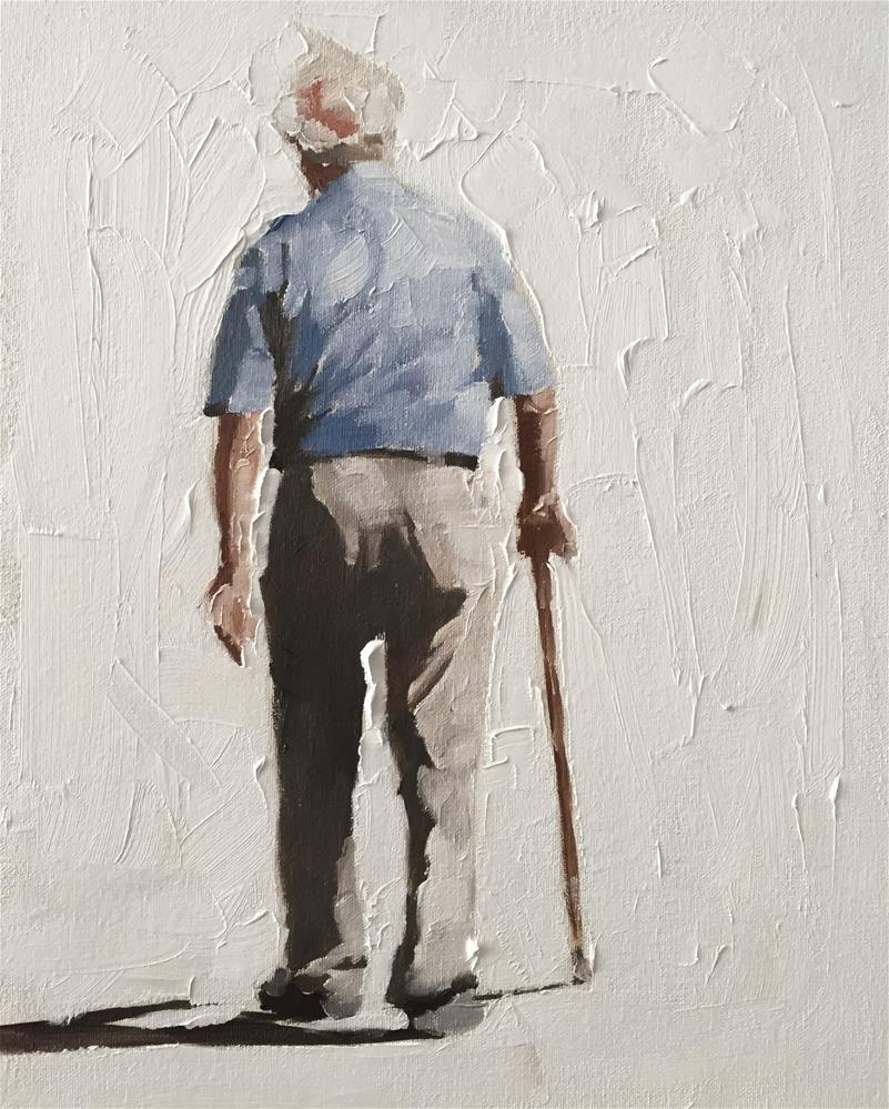 """Old Man"" original fine art by James Coates"