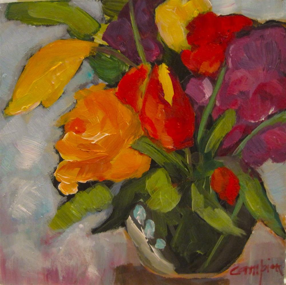"""291. Celebrating Another Year"" original fine art by Diane Campion"