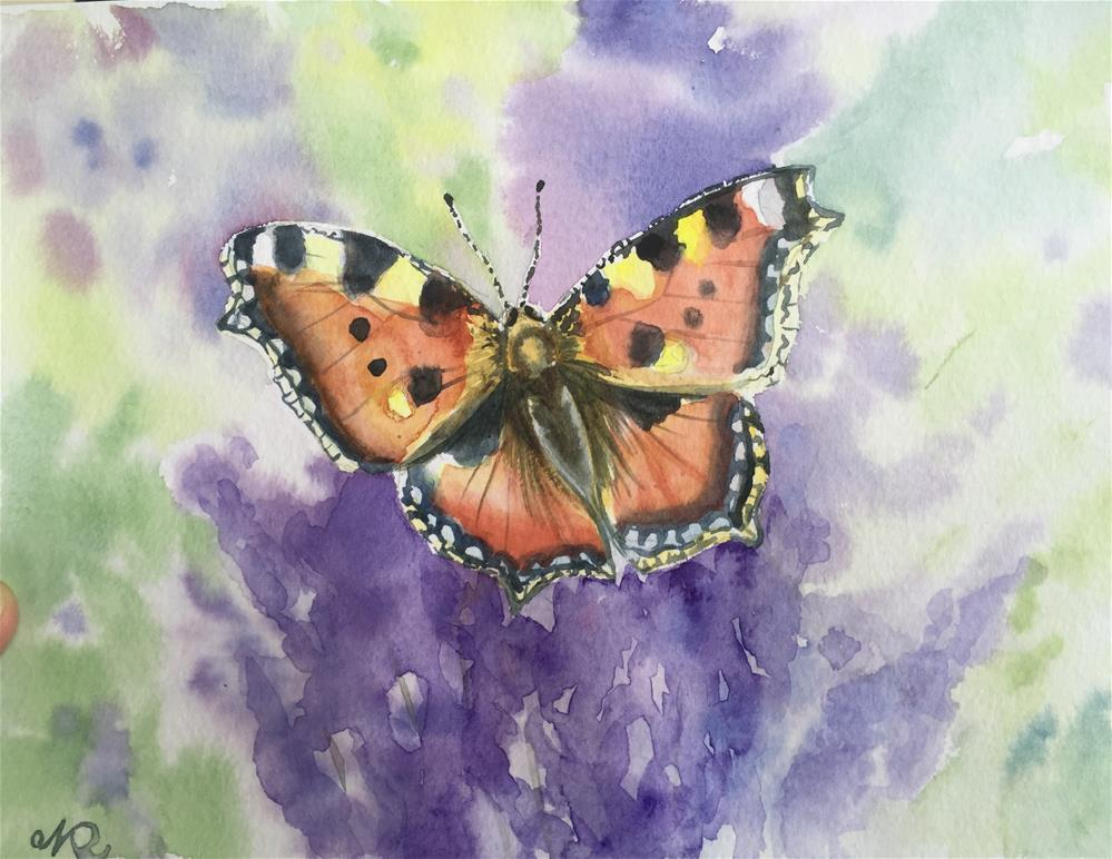 """Summer!"" original fine art by Natasha Ramras"