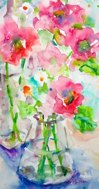 """just a hint"" original fine art by Nora MacPhail"