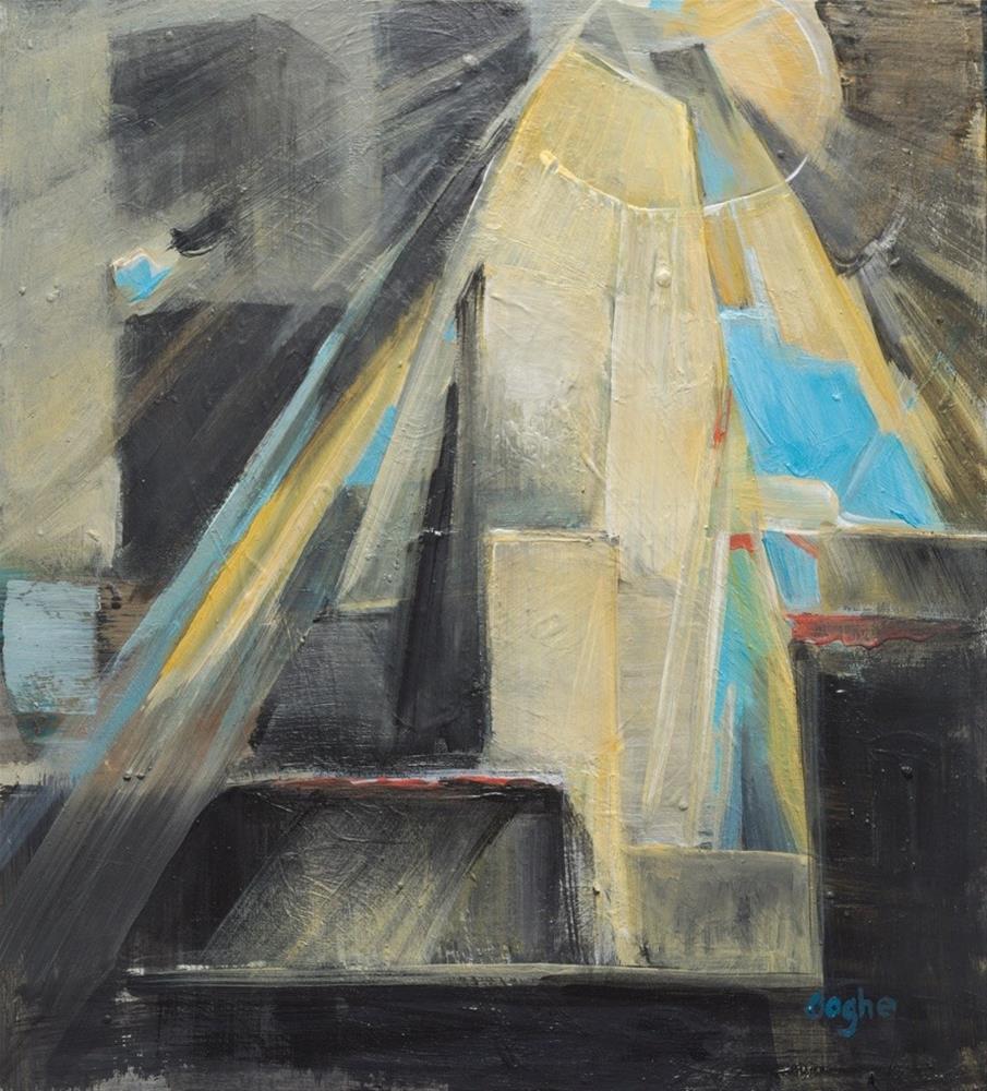 """Shattered Sun"" original fine art by Angela Ooghe"