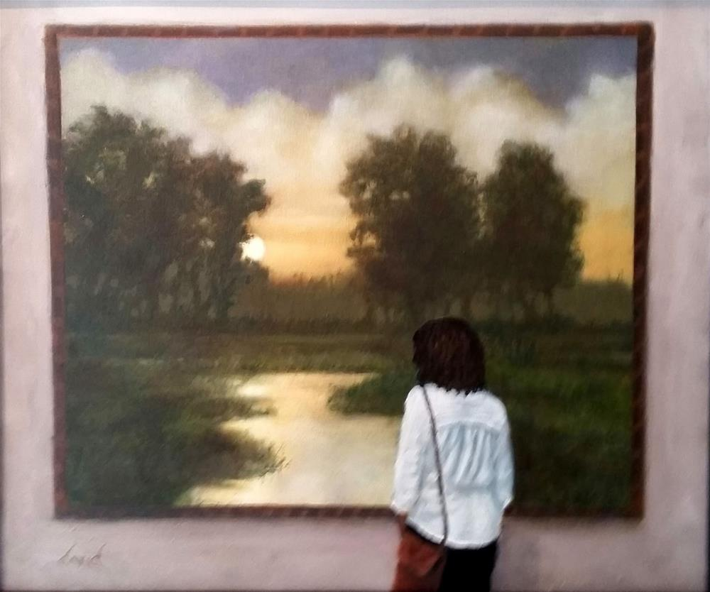 """Balance"" original fine art by David Larson Evans"
