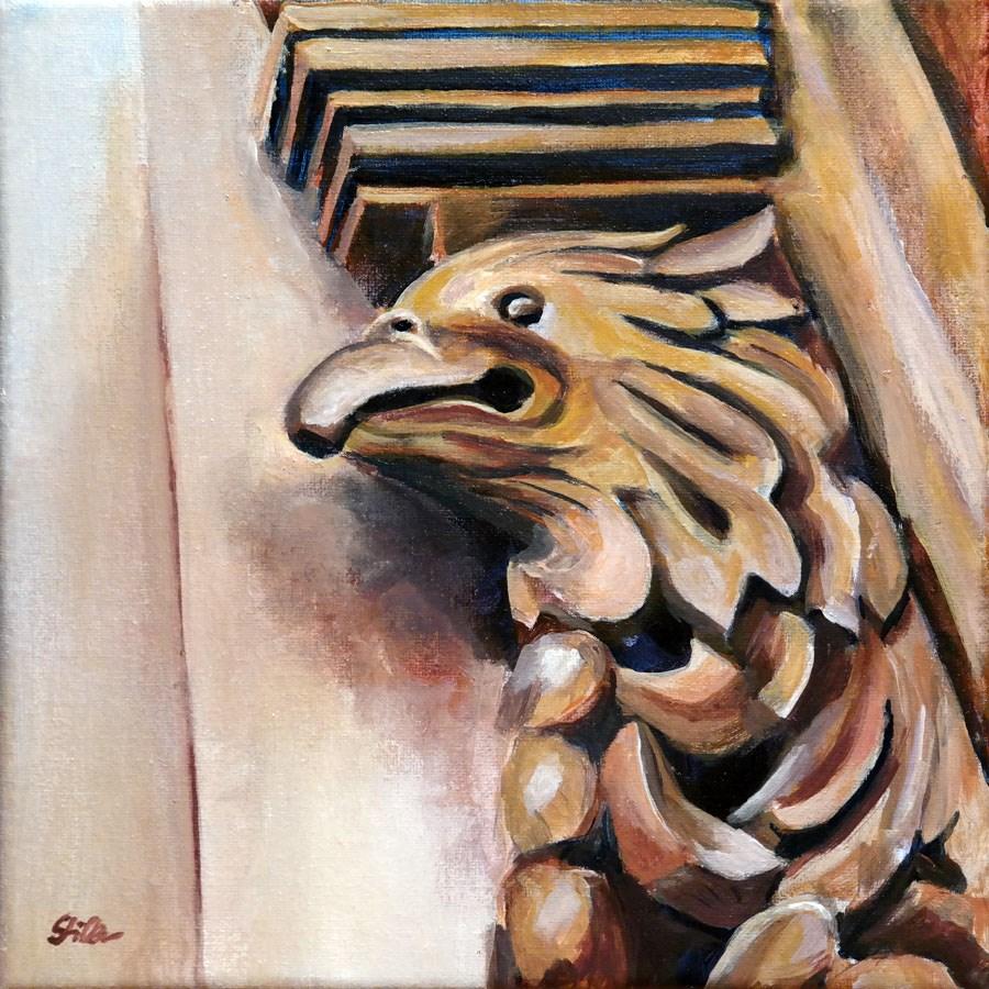 """""""1549 Hawkeye"""" original fine art by Dietmar Stiller"""