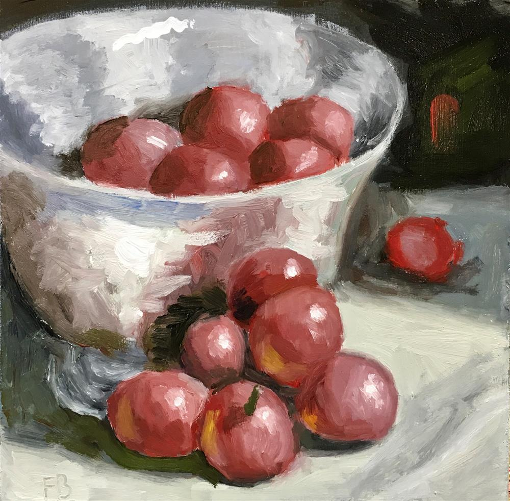 """""""218 Grapes"""" original fine art by Fred Bell"""