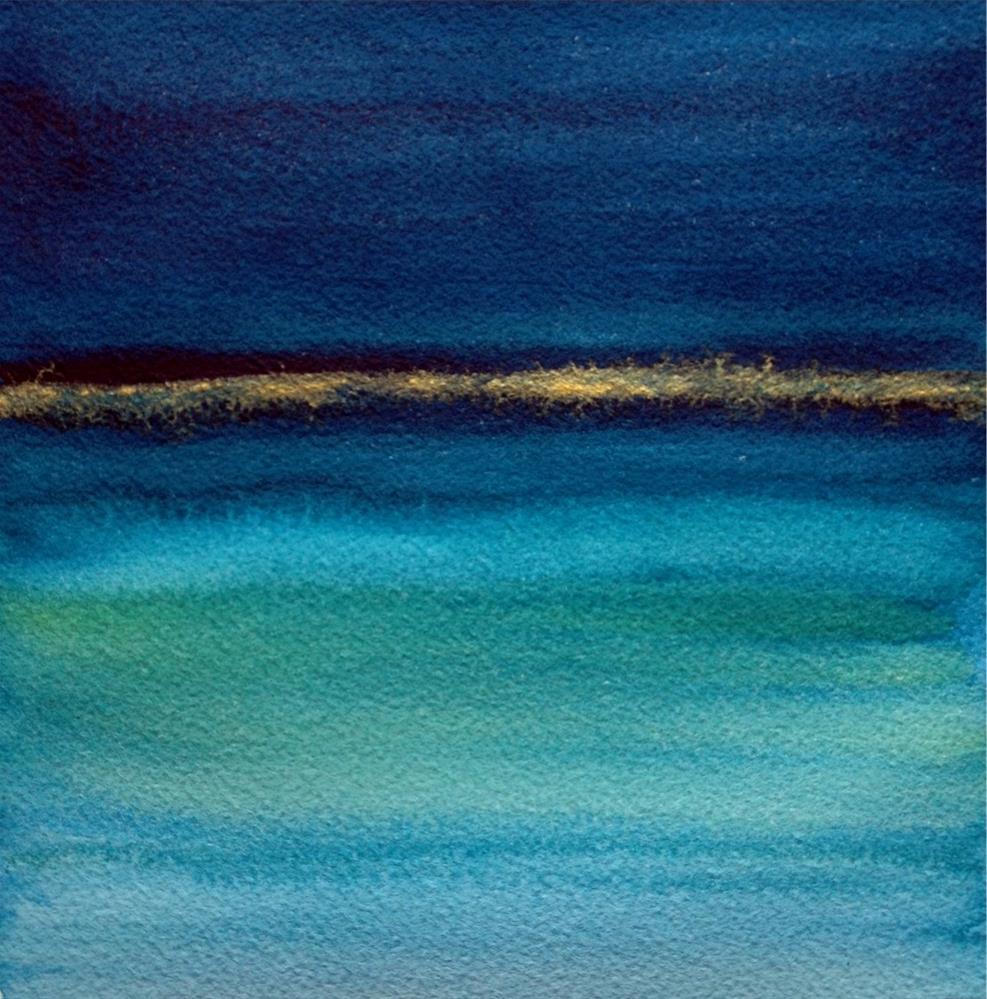 """Abundant Horizon"" original fine art by Anoa Kanu"
