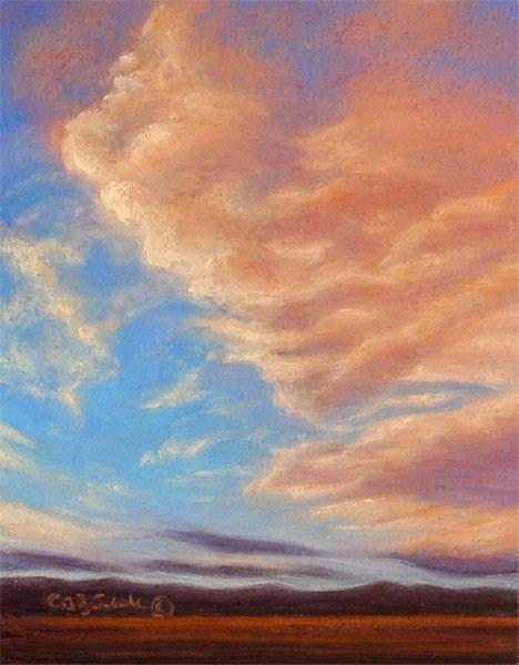 """Up We Go"" original fine art by Carol Zirkle"