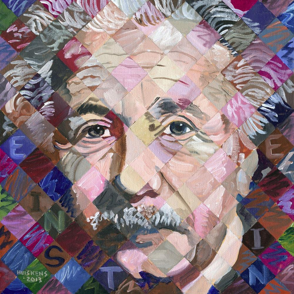 """Small Einstein"" original fine art by Randal Huiskens"