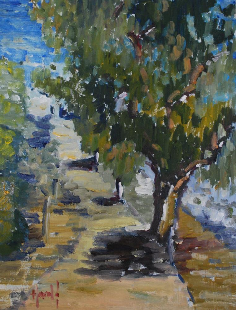 """Path At Castaways"" original fine art by Deborah Harold"