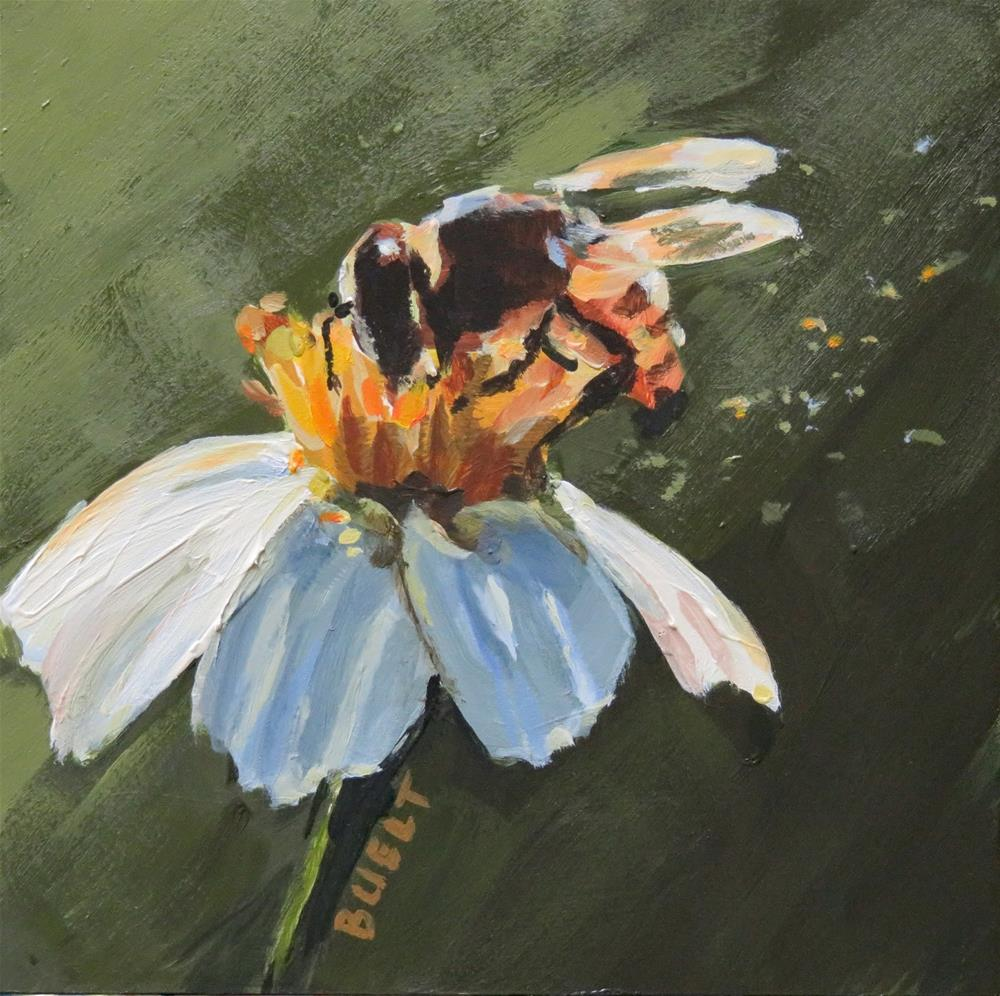 """Busy Bee"" original fine art by Shari Buelt"