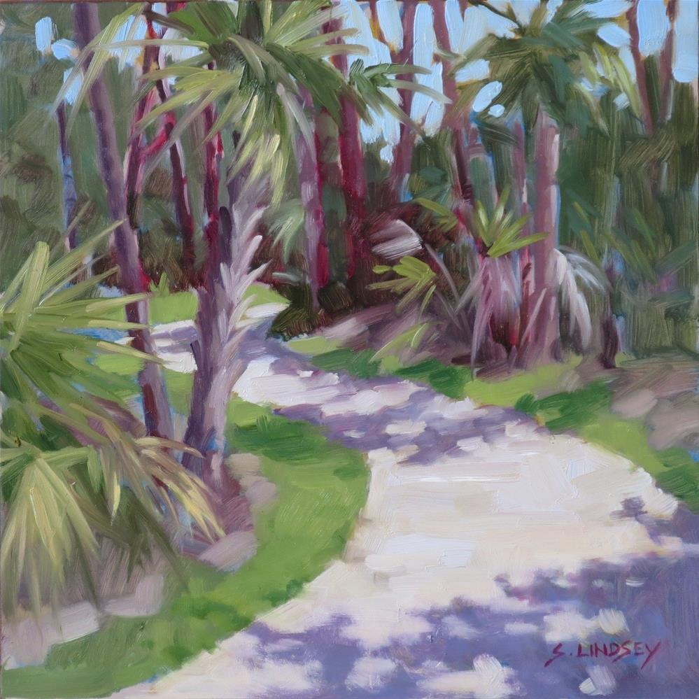 """Okeekeelee Path"" original fine art by Susan Lindsey"