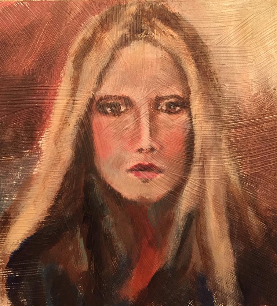 """Jen"" original fine art by Melissa Gresham"