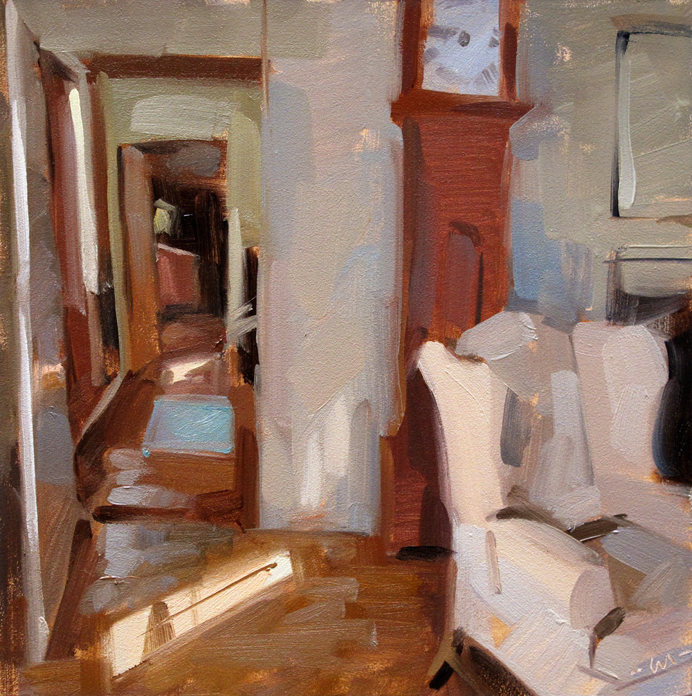 """Front Room"" original fine art by Carol Marine"