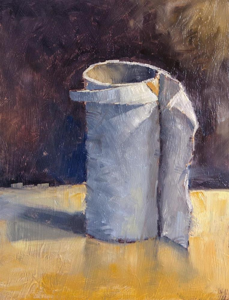 """TP Roll"" original fine art by Terry Houseworth"
