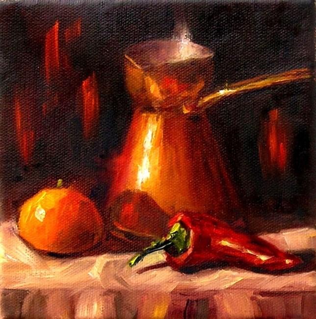 """Some like it hot"" original fine art by Irina Beskina"