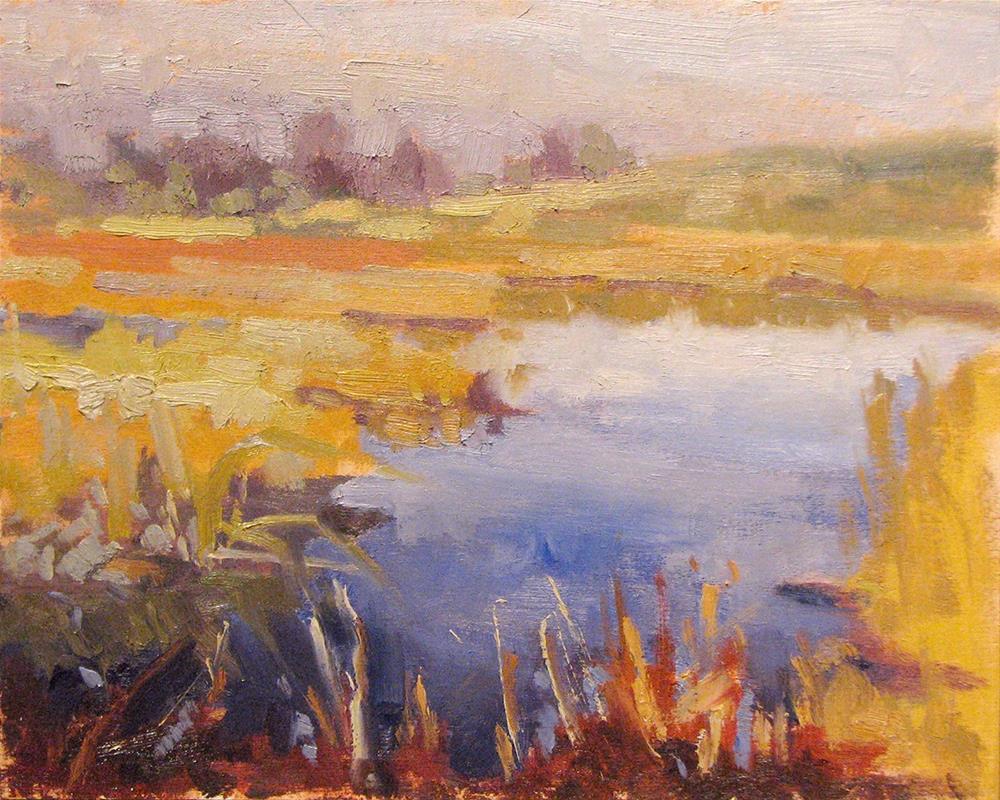 """Amon Basin Marshes"" original fine art by Laura Gable"