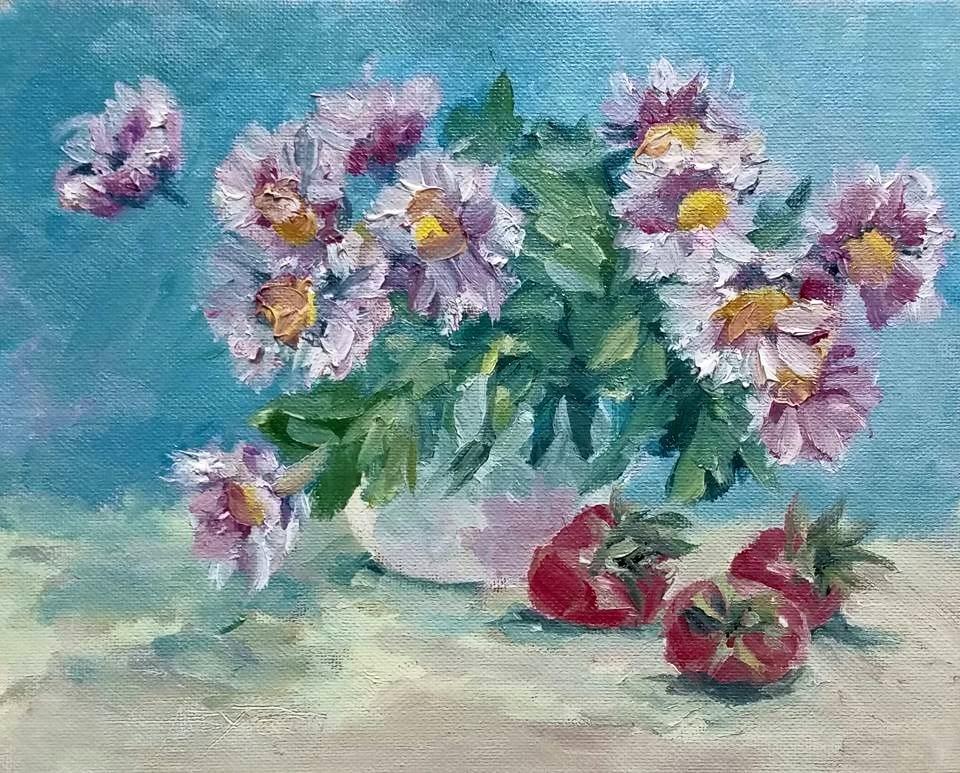 """Light Summer"" original fine art by Gabriella DeLamater"