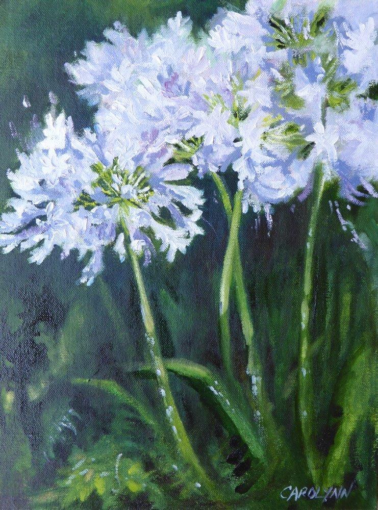 """""""Bee Heaven II"""" original fine art by Carolynn Doan"""