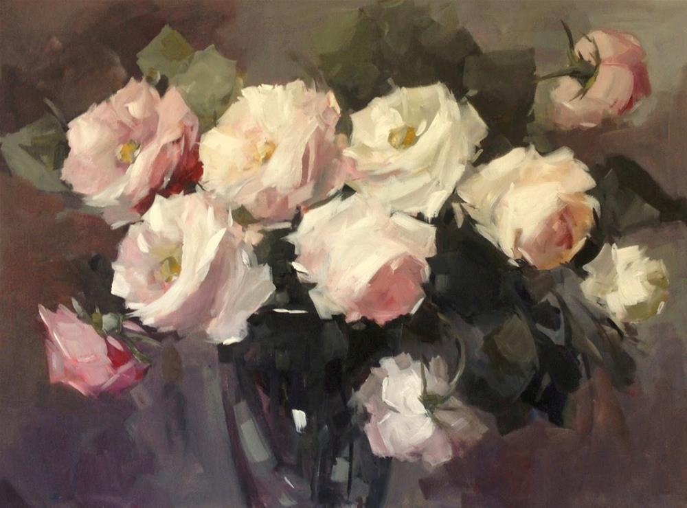 """""""spring forever"""" original fine art by Parastoo Ganjei"""