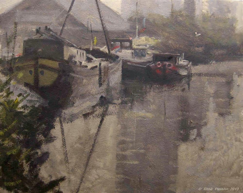 """Cold Morning. Doetinchem, Holland."" original fine art by René PleinAir"