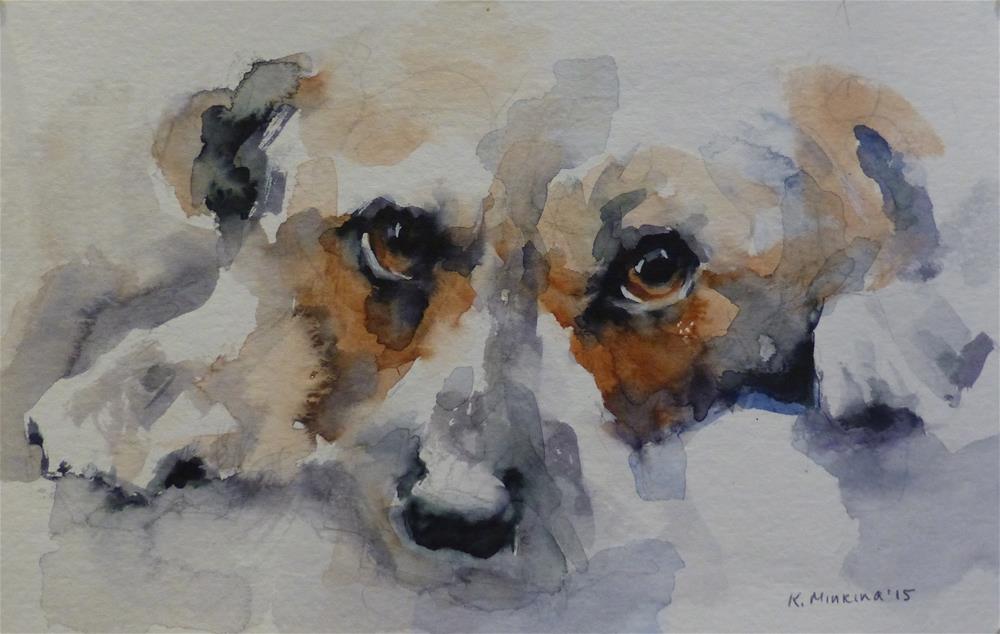 """adopt118"" original fine art by Katya Minkina"