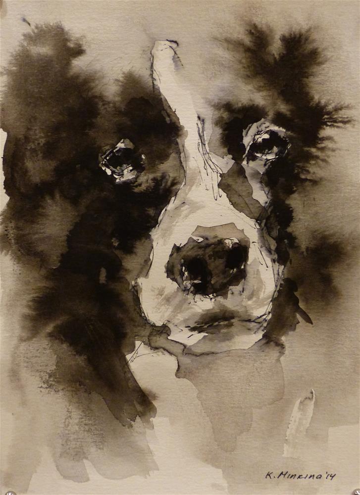 """adopt36"" original fine art by Katya Minkina"
