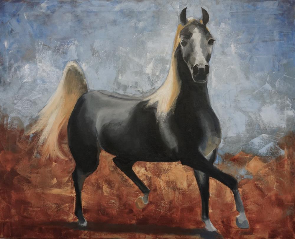 """Aurabella"" original fine art by Catherine Van Berg"