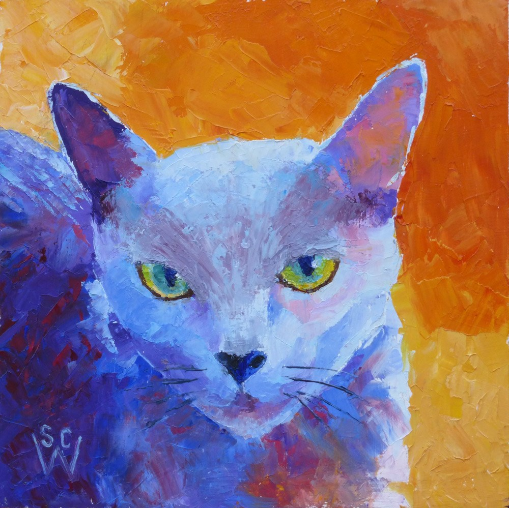 """Bijou"" original fine art by Susan Woodward"