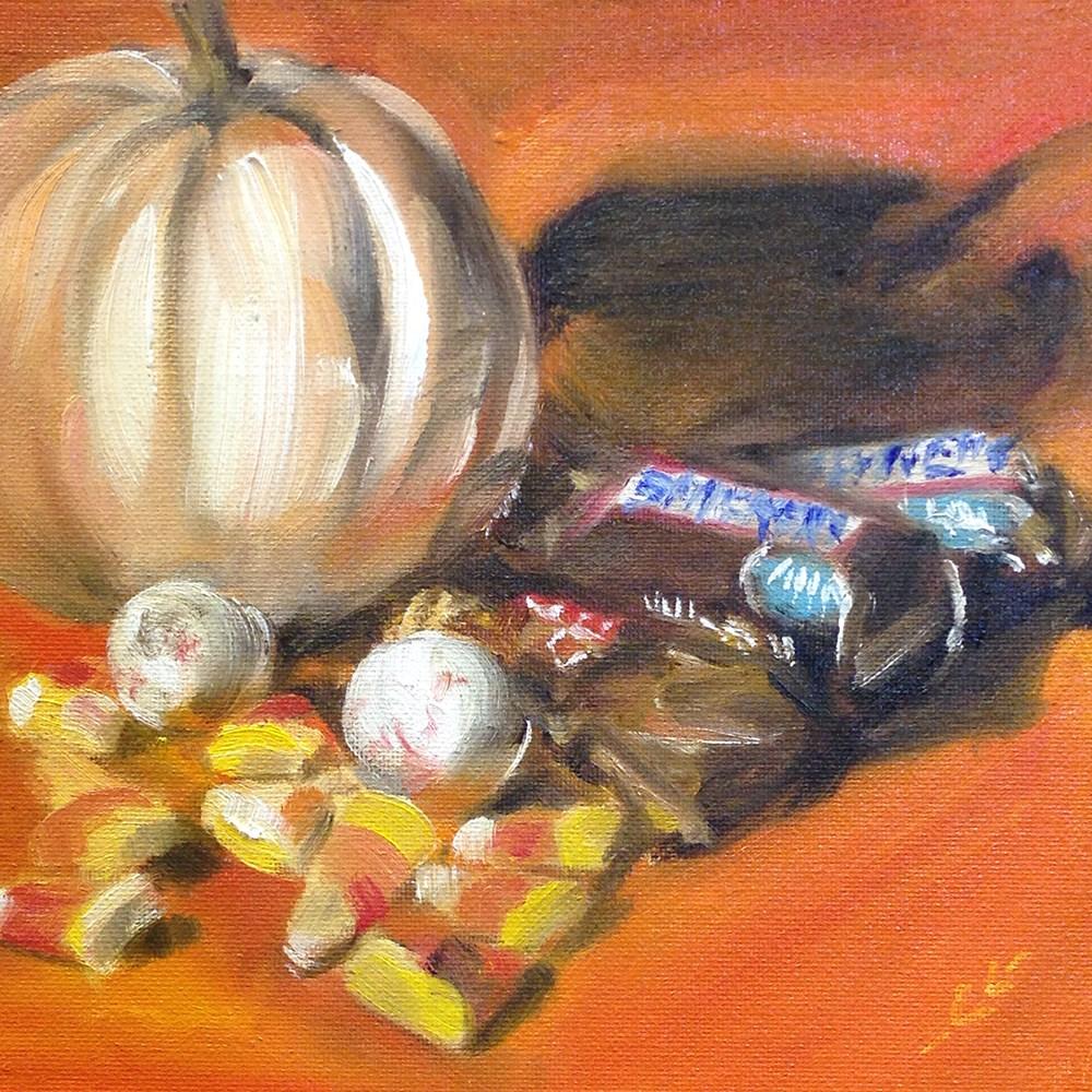 """Nov 1"" original fine art by Linda Lowery"