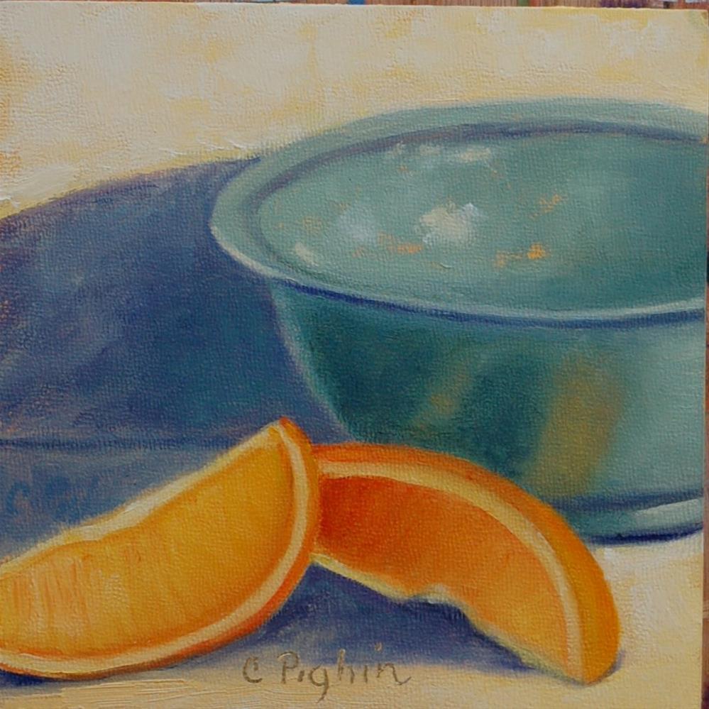 """Empty Bowl"" original fine art by Carol Pighin"