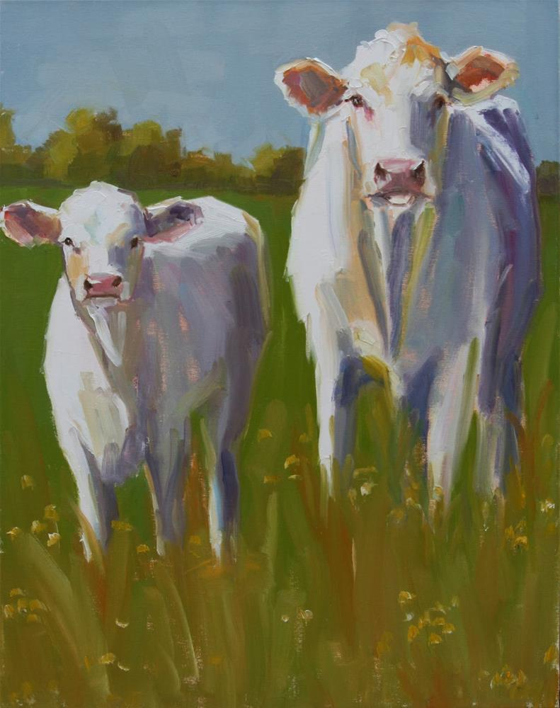 """offspring"" original fine art by Carol Carmichael"