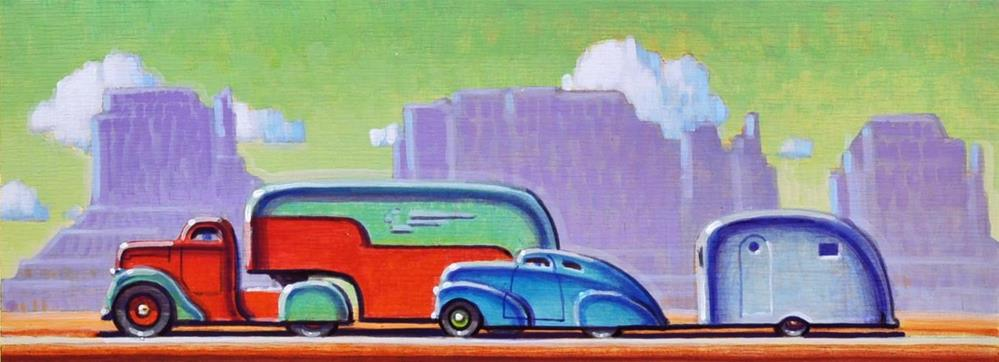 """Route 66"" original fine art by Robert LaDuke"