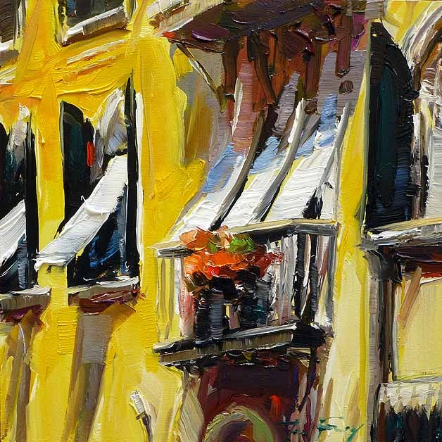 """Fenster von Venedig"" original fine art by Jurij Frey"