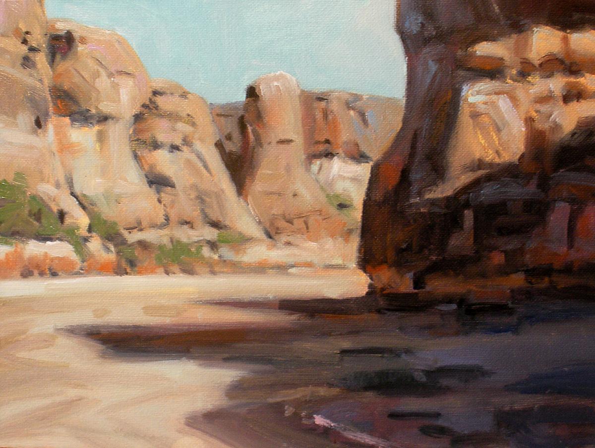 """Pump Canyon"" original fine art by David Forks"