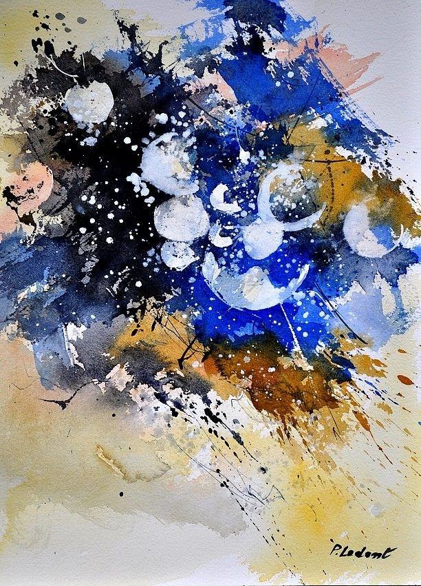 """""""watercolor 111001"""" original fine art by Pol Ledent"""