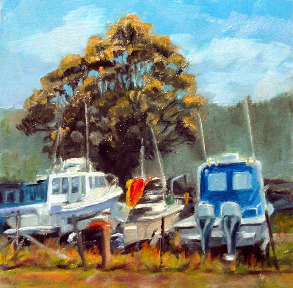 """High and Dry"" original fine art by Cietha Wilson"