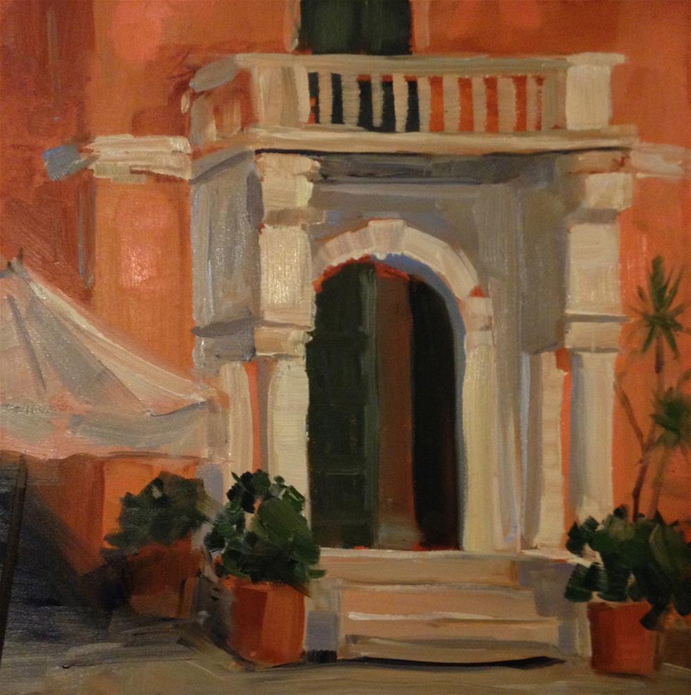 """""""#174 Cinque Terre, Monteroso, Italy #7"""" original fine art by Patty Voje"""