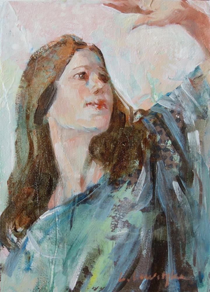 """The Light"" original fine art by Lorraine Lewitzka"