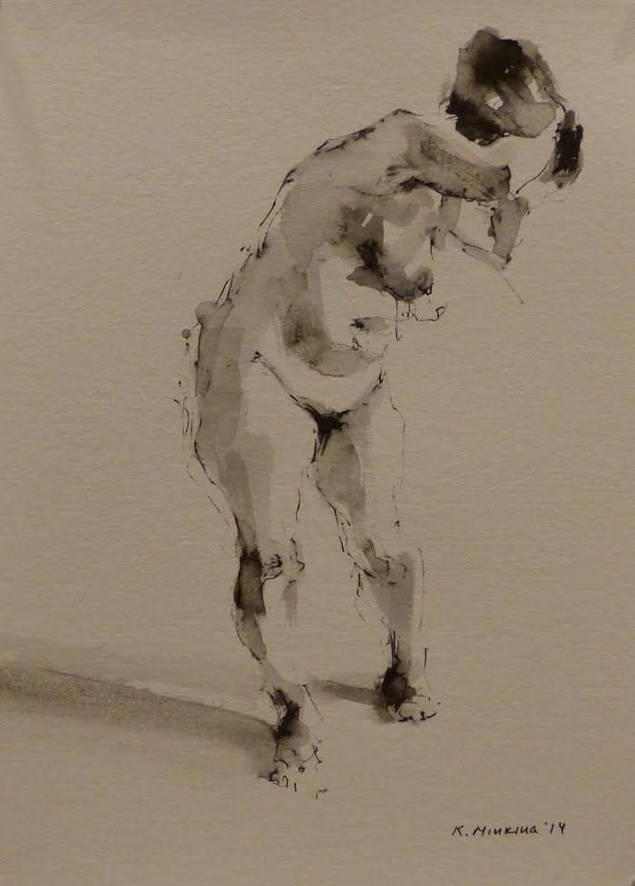 """nude10"" original fine art by Katya Minkina"