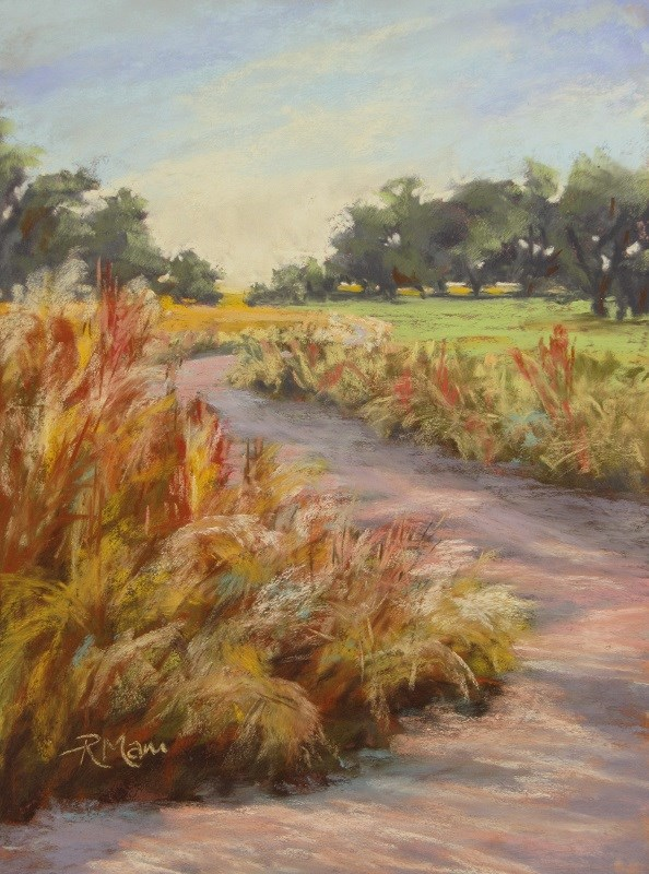 """Uncut Verge"" original fine art by Ruth Mann"