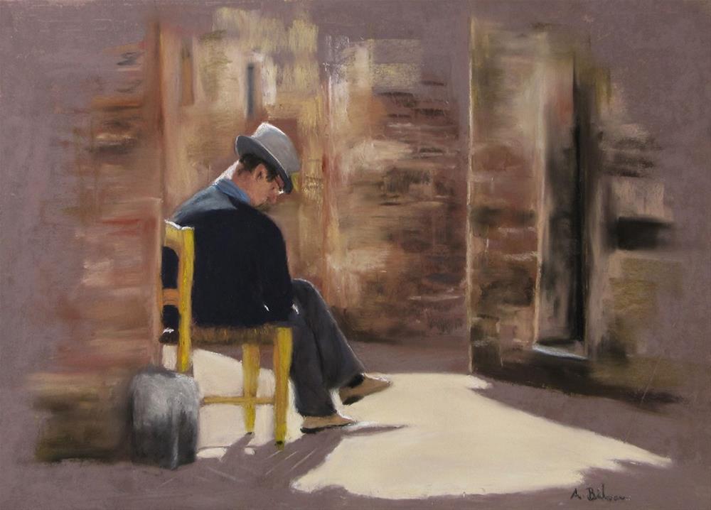"""Siesta"" original fine art by Amanda Bilson"