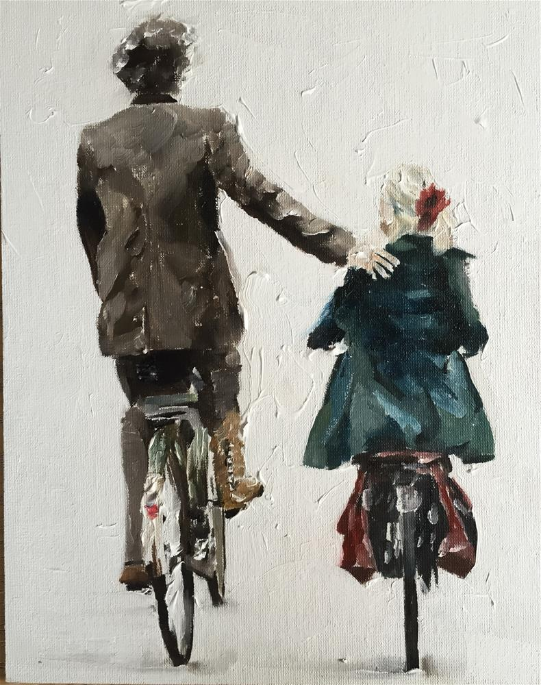 """Let's Ride"" original fine art by James Coates"