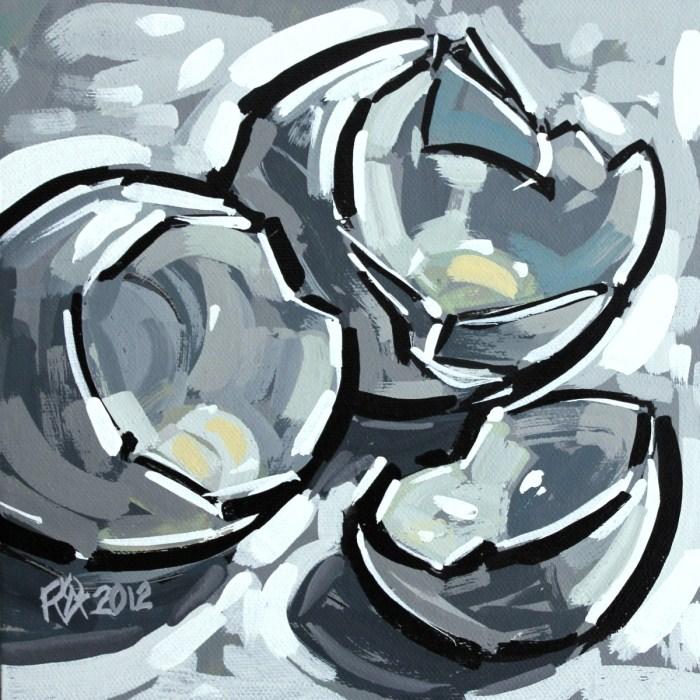 """Eggshells"" original fine art by Roger Akesson"