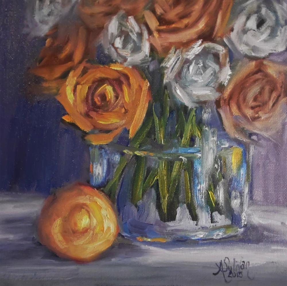 """A Touch of Sour still life painting by Alabama Artist Angela Sullivan"" original fine art by Angela Sullivan"
