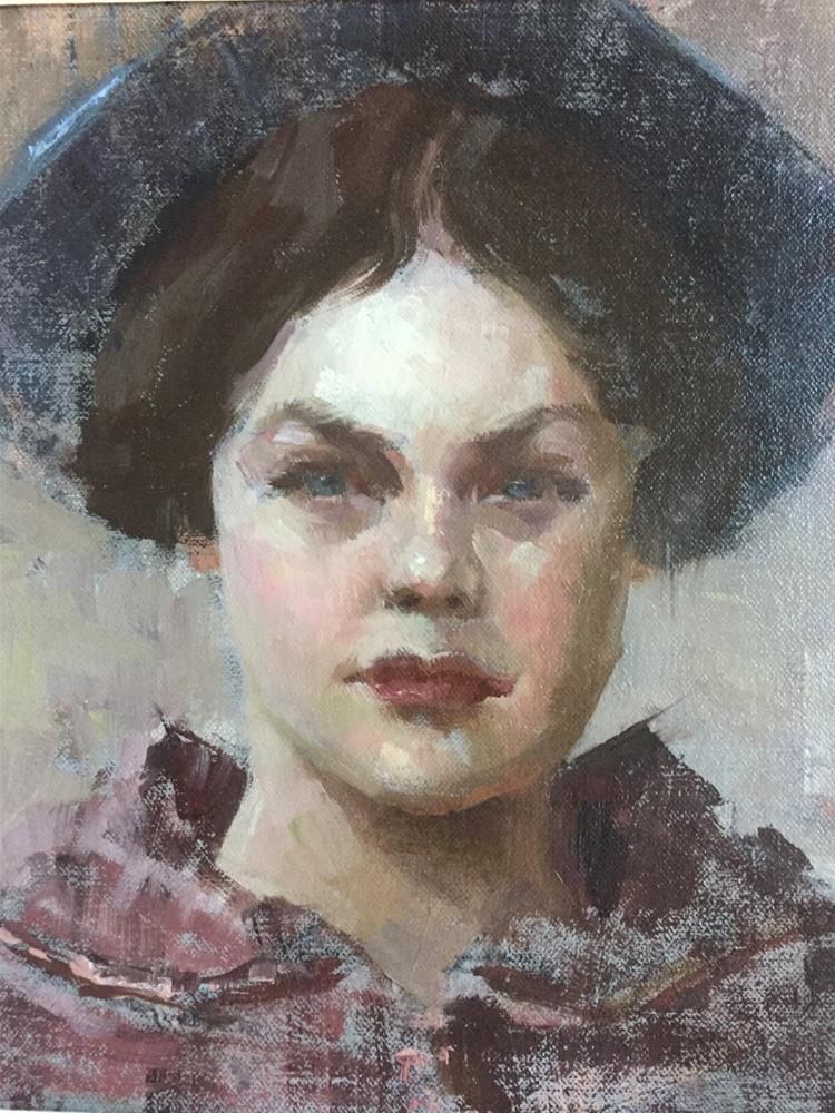 """Mother's Love"" original fine art by Johanna Spinks"