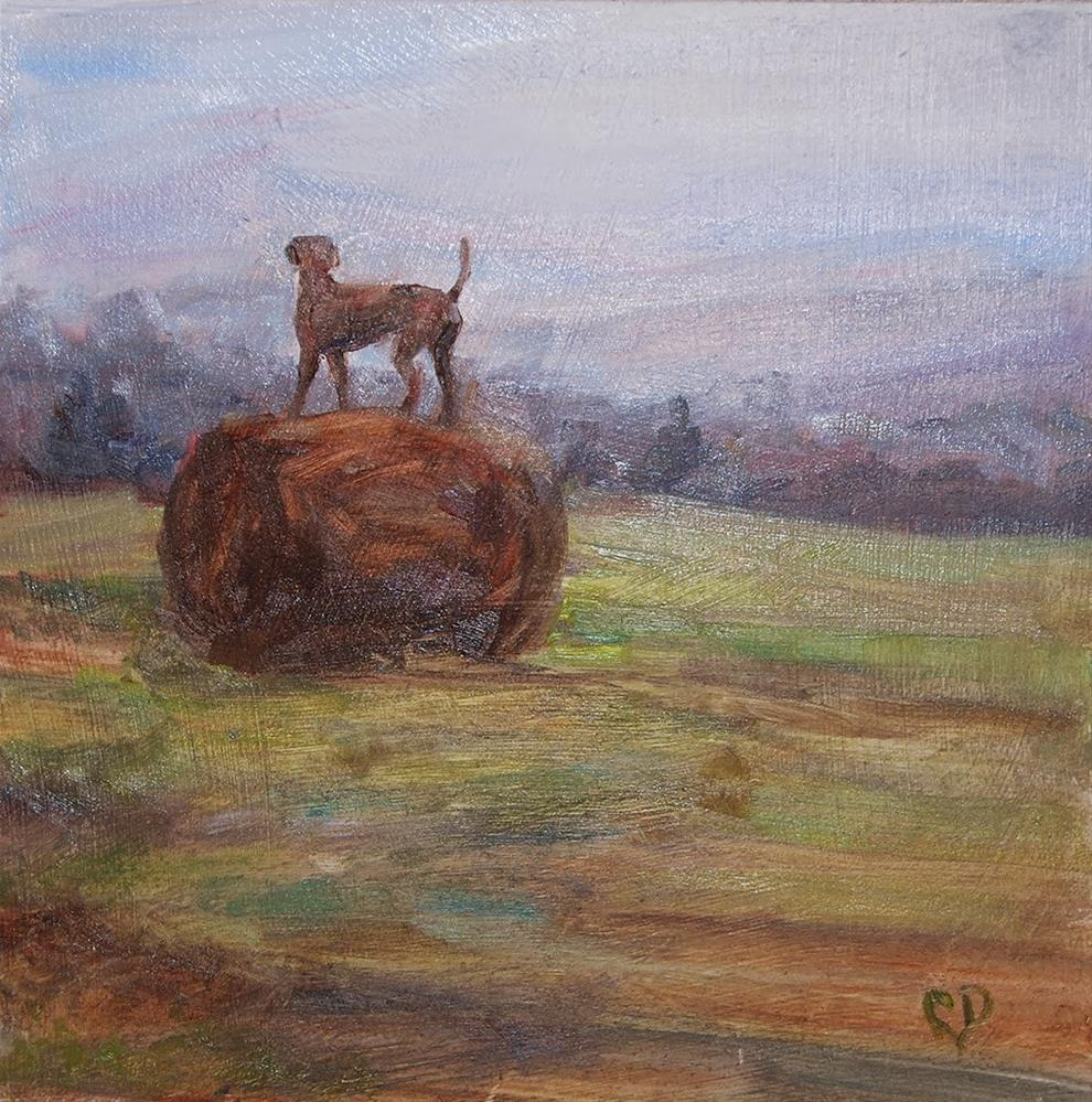 """Top of the World!"" original fine art by Carol DeMumbrum"
