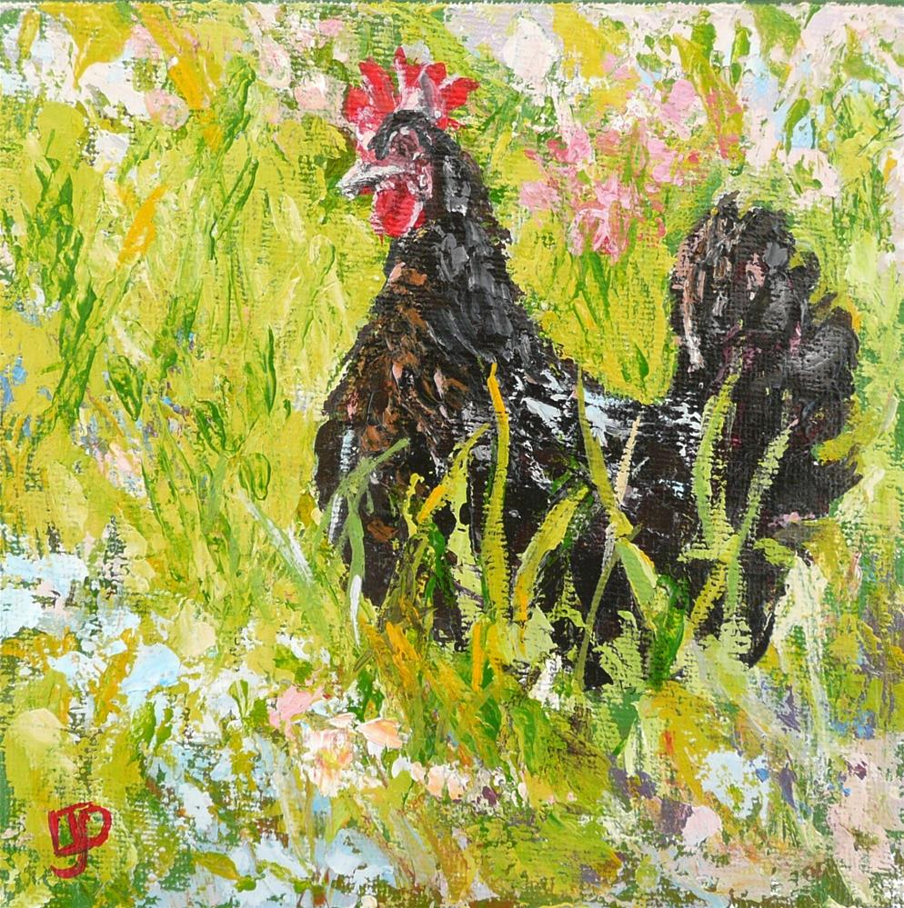 """Out And About"" original fine art by Leanne Owen"